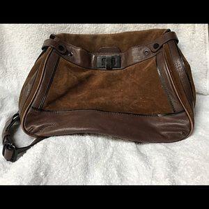BCBMAXAZRIA Leather & Suede Purse